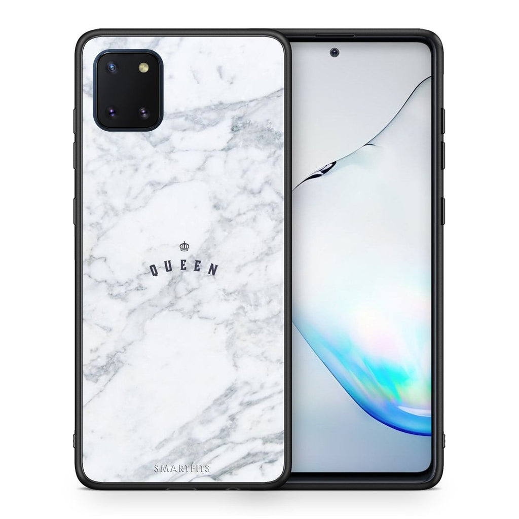 4 - Samsung Note 10 Lite Queen Marble case, cover, bumper