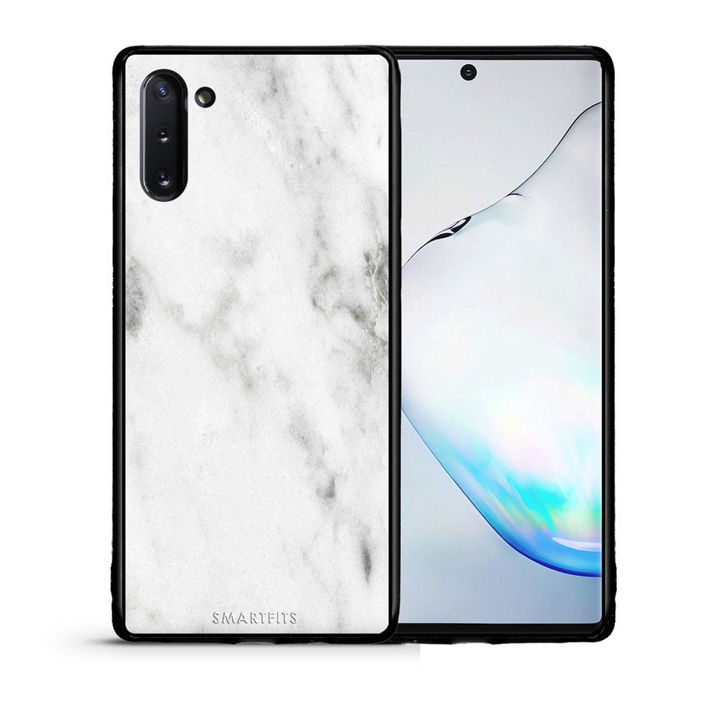 2 - Samsung Note 10  White marble case, cover, bumper