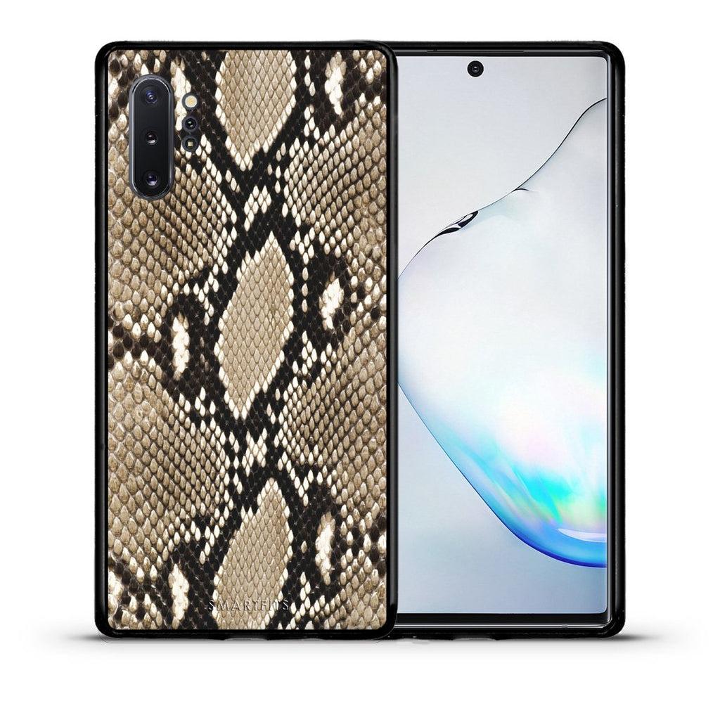23 - Samsung Note 10+ Fashion Snake Animal case, cover, bumper