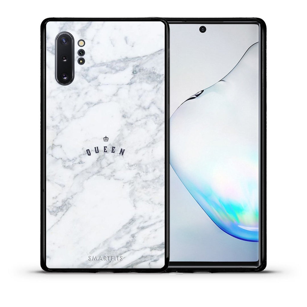 4 - Samsung Note 10+ Queen Marble case, cover, bumper