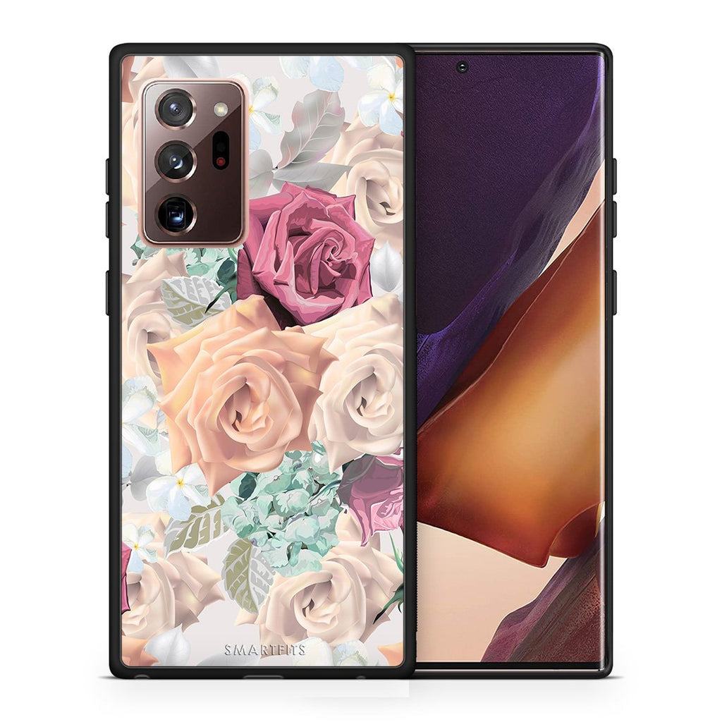 99 - Samsung Note 20 Ultra  Bouquet Floral case, cover, bumper