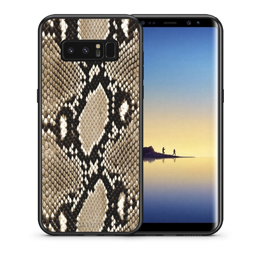 23 - samsung galaxy note 8 Fashion Snake Animal case, cover, bumper