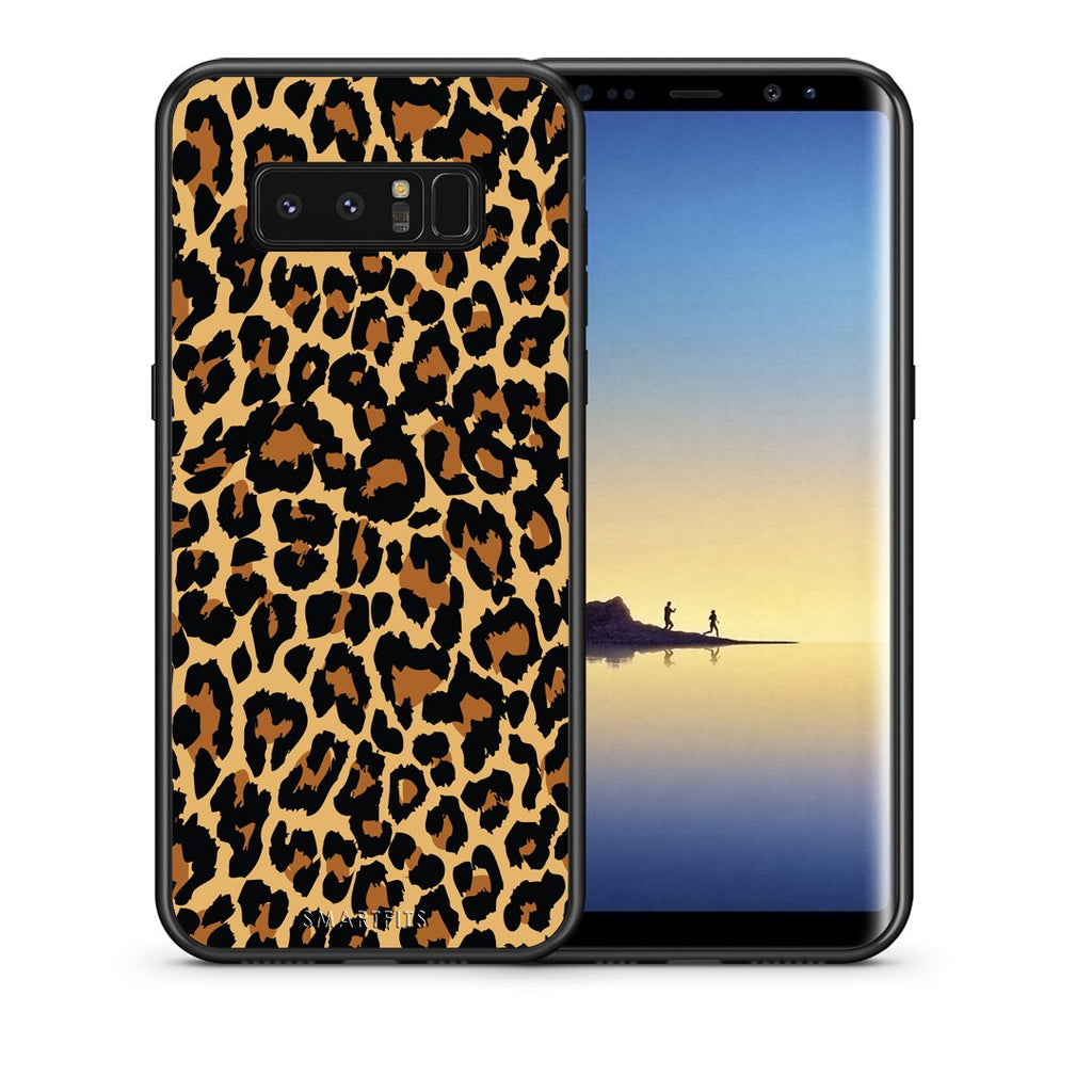 21 - samsung galaxy note 8 Leopard Animal case, cover, bumper
