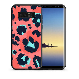 22 - samsung galaxy note 8 Pink Leopard Animal case, cover, bumper