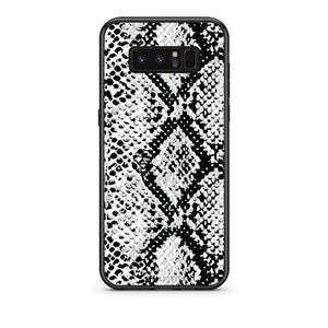 24 - samsung galaxy note 8 White Snake Animal case, cover, bumper