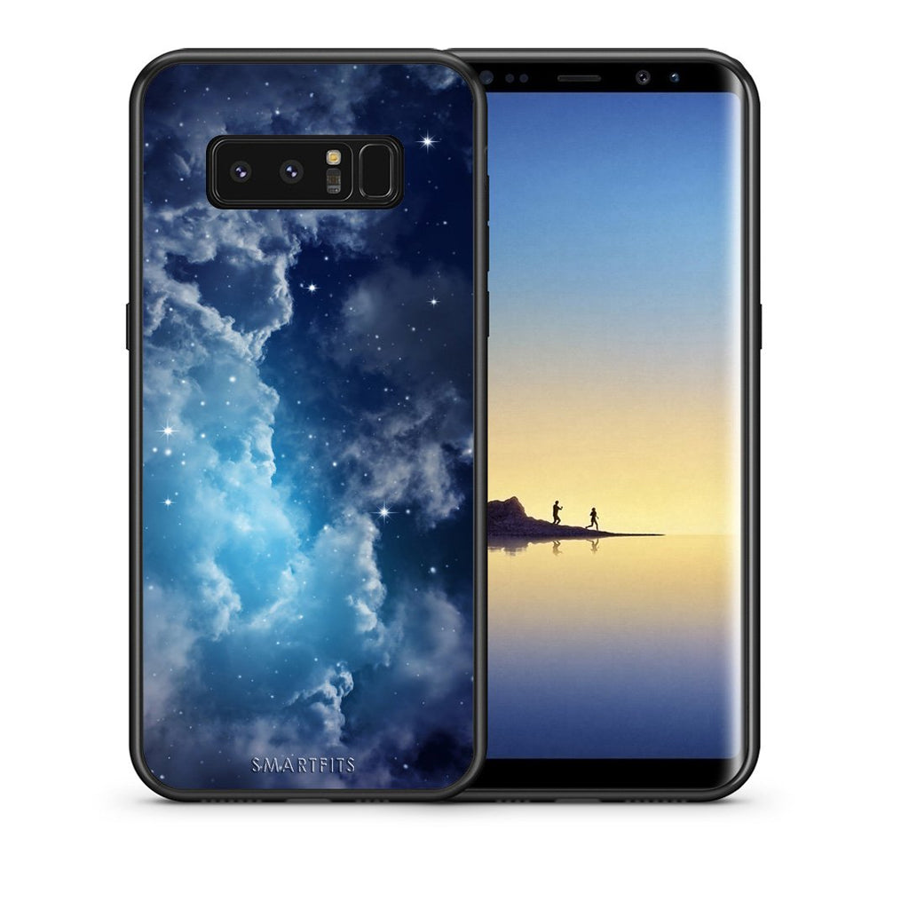 104 - samsung galaxy note 8 Blue Sky Galaxy case, cover, bumper