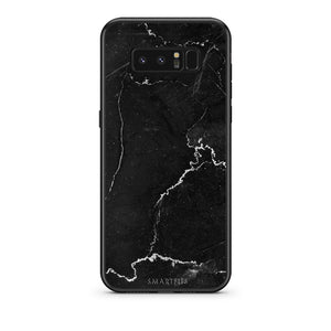 1 - samsung galaxy note 8 black marble case, cover, bumper