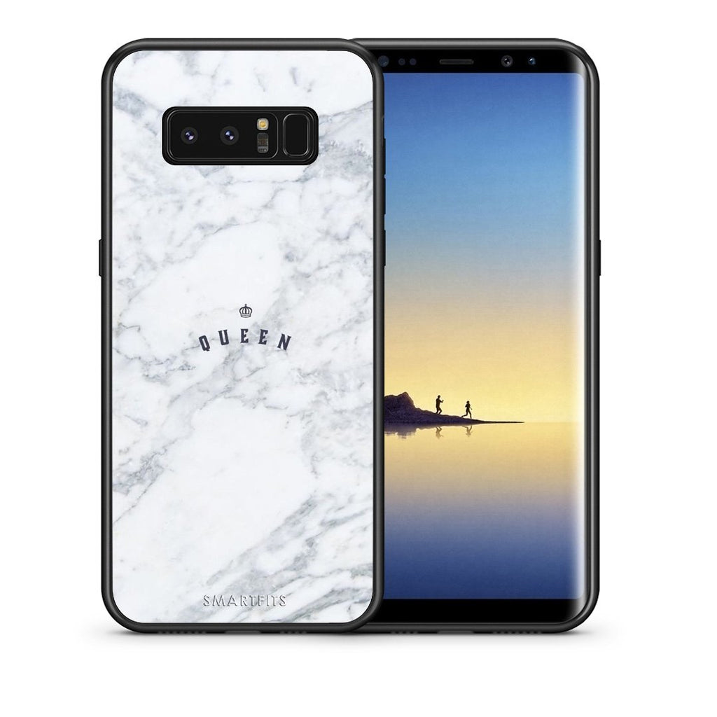 4 - samsung note 8 Queen Marble case, cover, bumper
