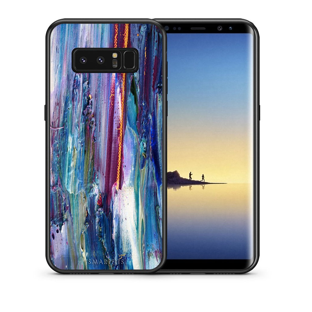 99 - samsung galaxy note 8 Paint Winter case, cover, bumper