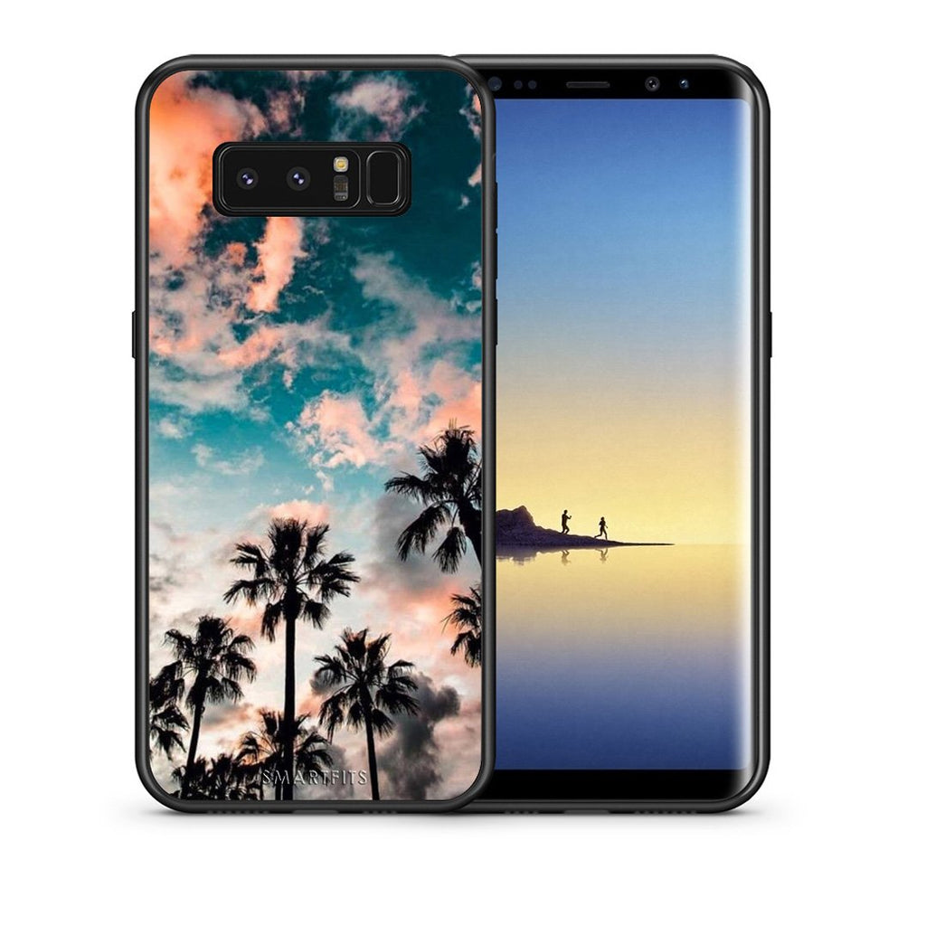 99 - samsung galaxy note 8 Summer Sky case, cover, bumper