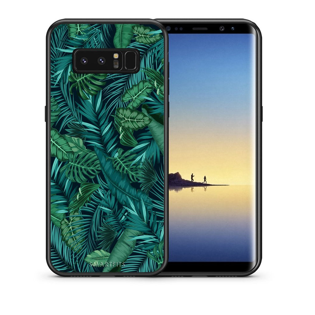 99 - samsung galaxy note 8 Tropic Leaves case, cover, bumper