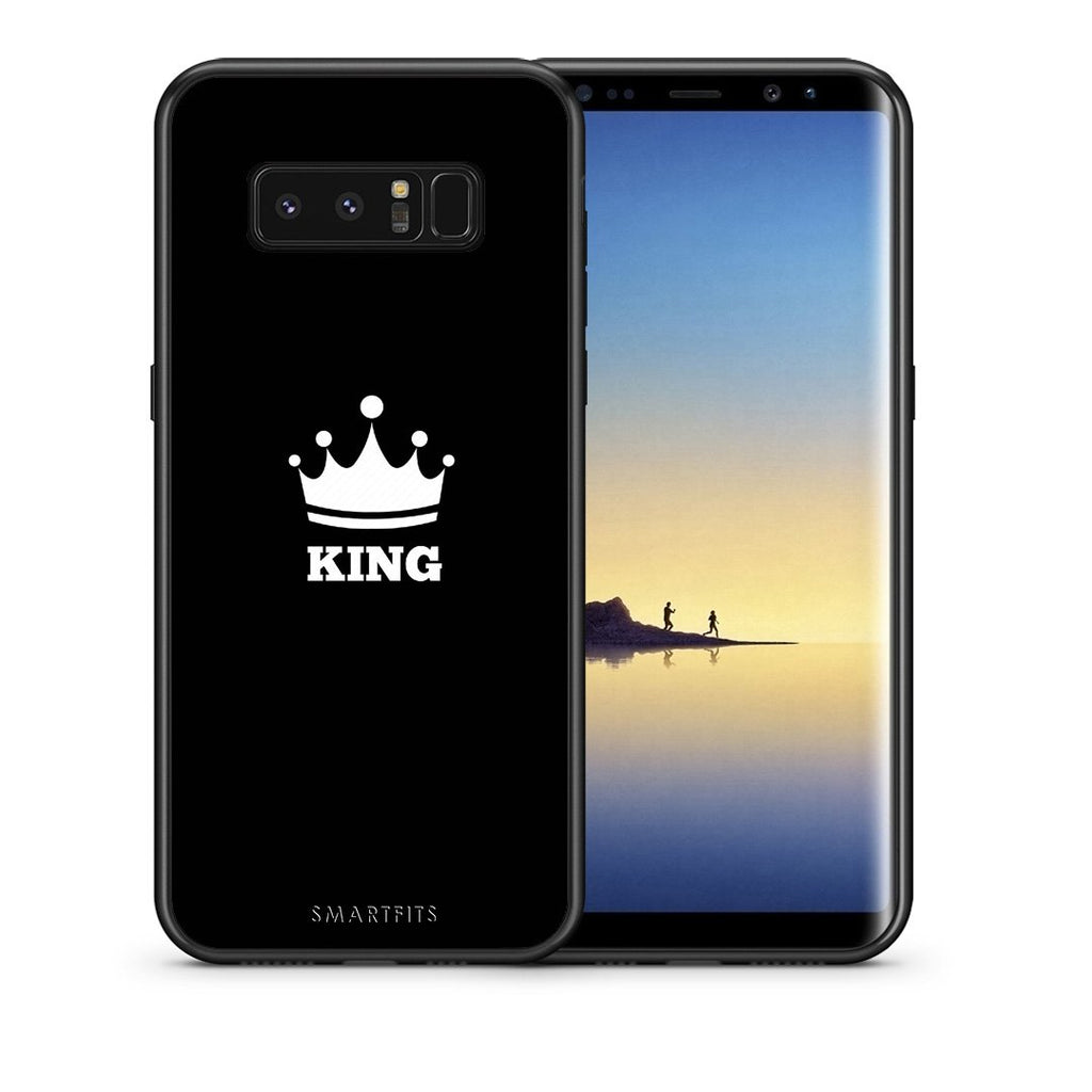 4 - samsung note 8 King Valentine case, cover, bumper