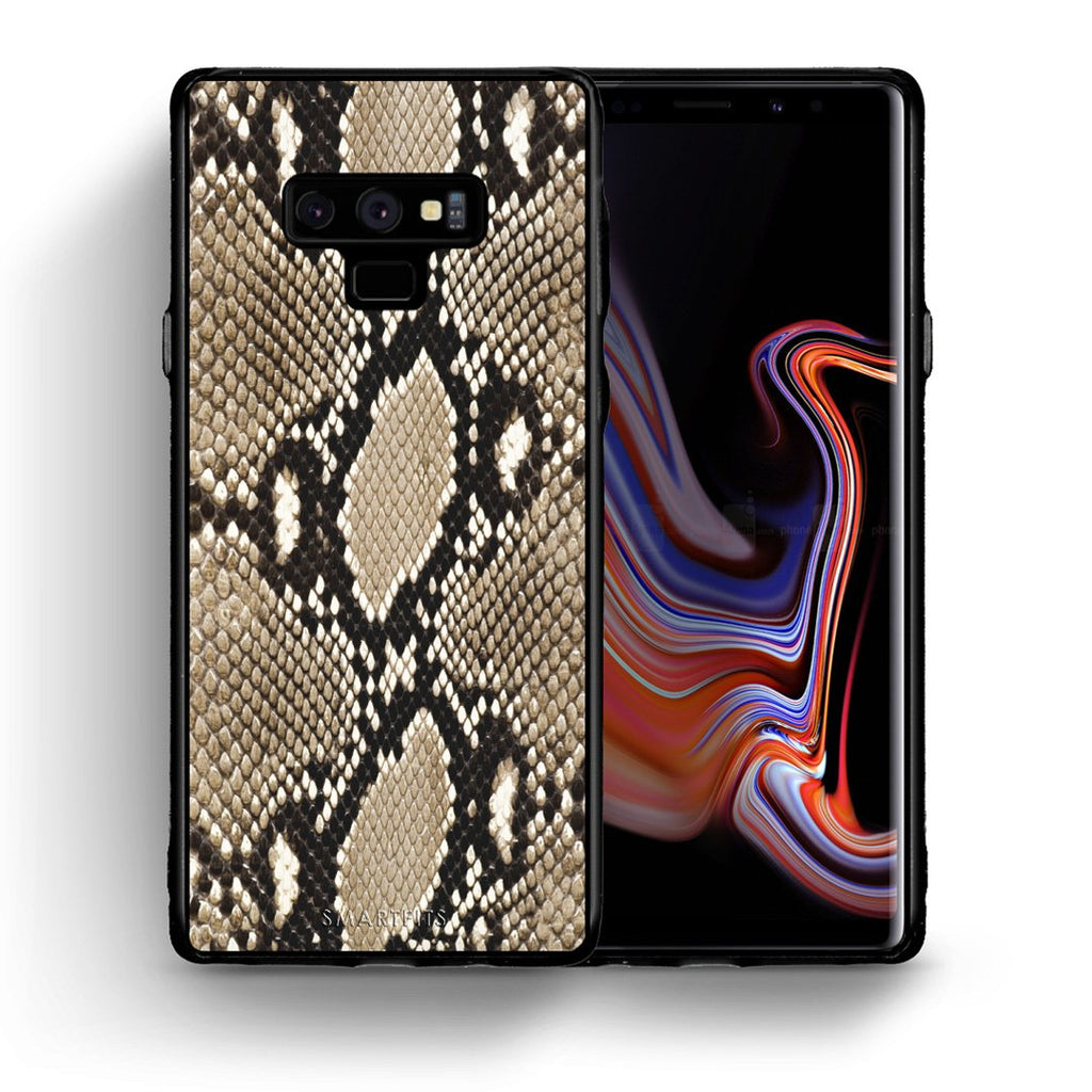 23 - samsung galaxy note 9 Fashion Snake Animal case, cover, bumper