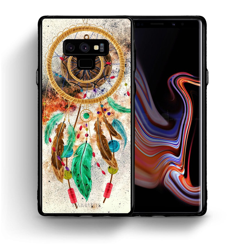 4 - samsung note 9 DreamCatcher Boho case, cover, bumper