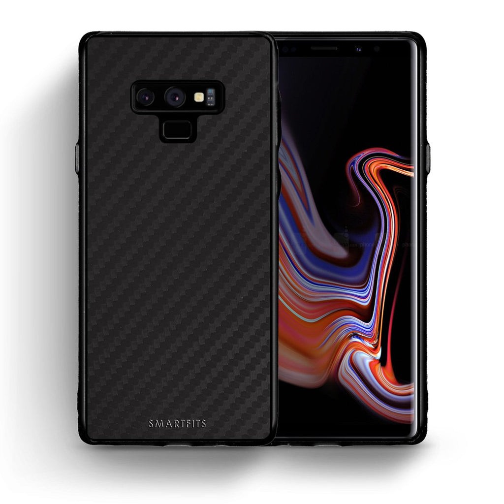 0 - samsung galaxy note 9 Black Carbon case, cover, bumper