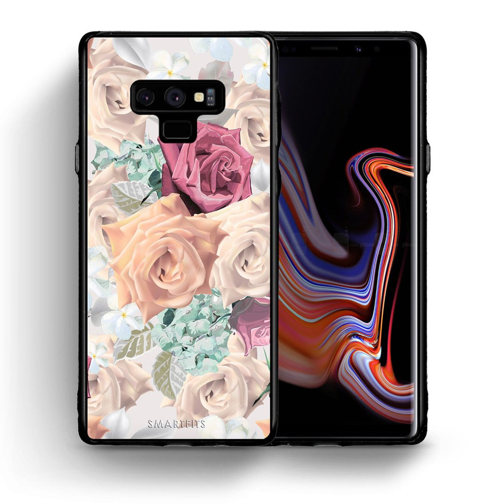 99 - samsung galaxy note 9 Bouquet Floral case, cover, bumper