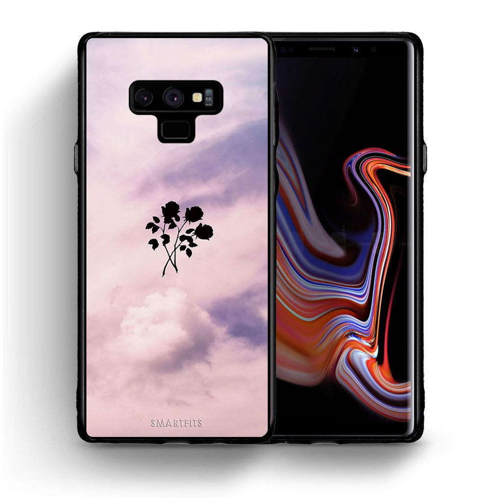 4 - samsung note 9 Sky Flower case, cover, bumper