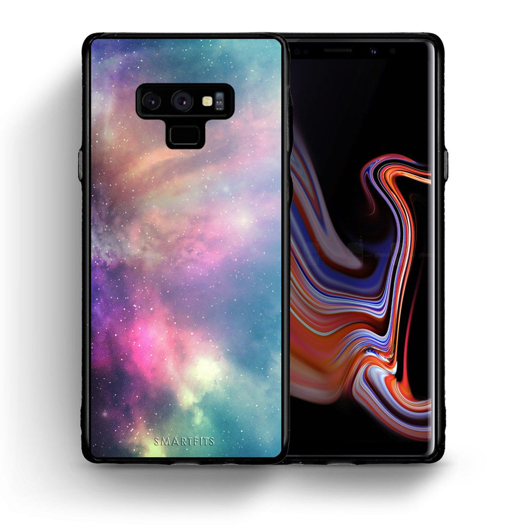 105 - samsung galaxy note 9 Rainbow Galaxy case, cover, bumper