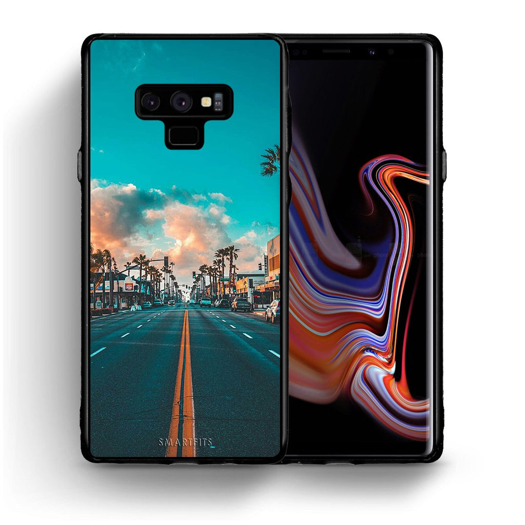 4 - samsung note 9 City Landscape case, cover, bumper