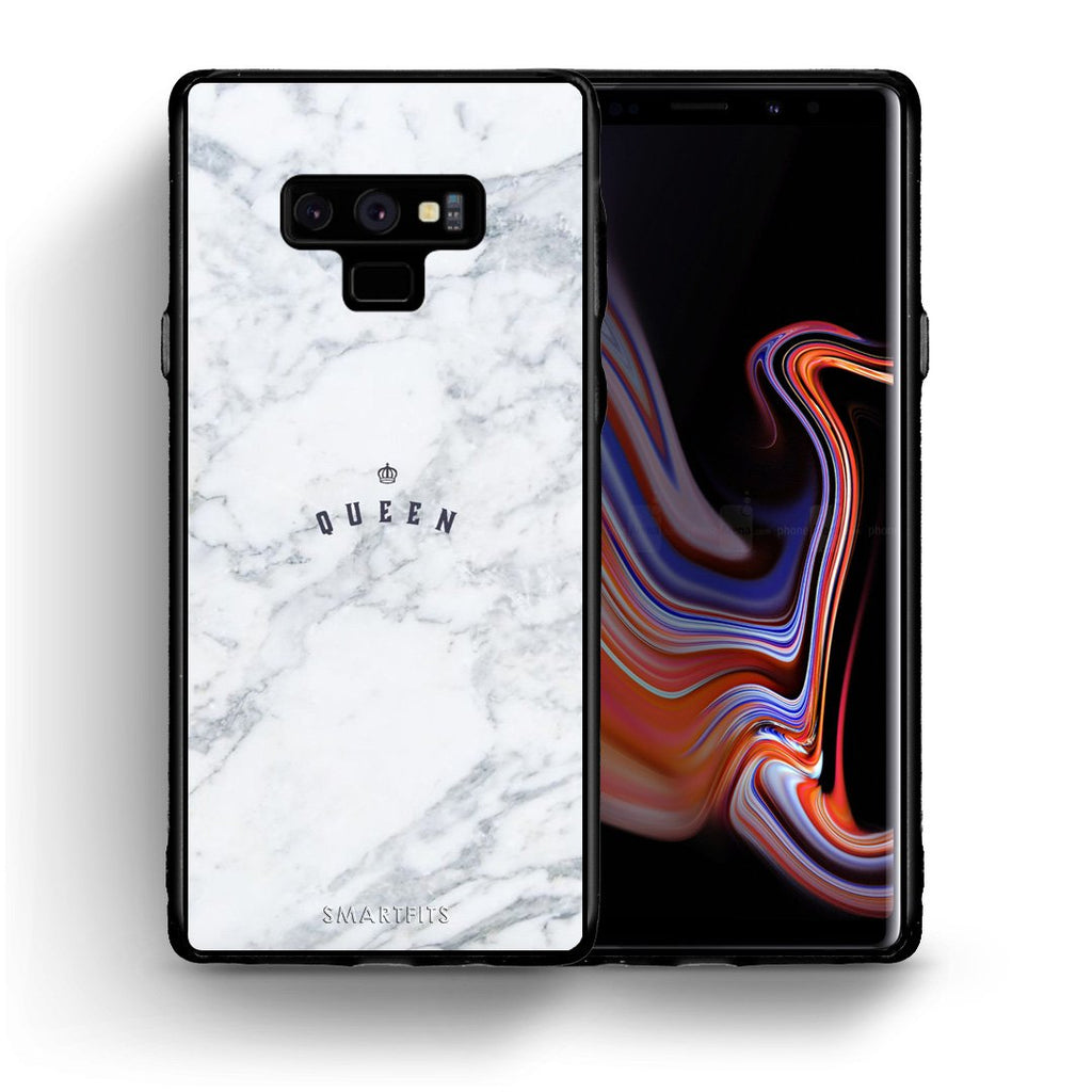 4 - samsung note 9 Queen Marble case, cover, bumper