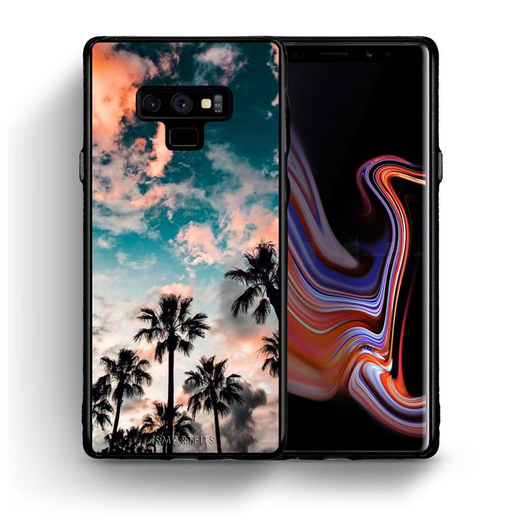 99 - samsung galaxy note 9 Summer Sky case, cover, bumper