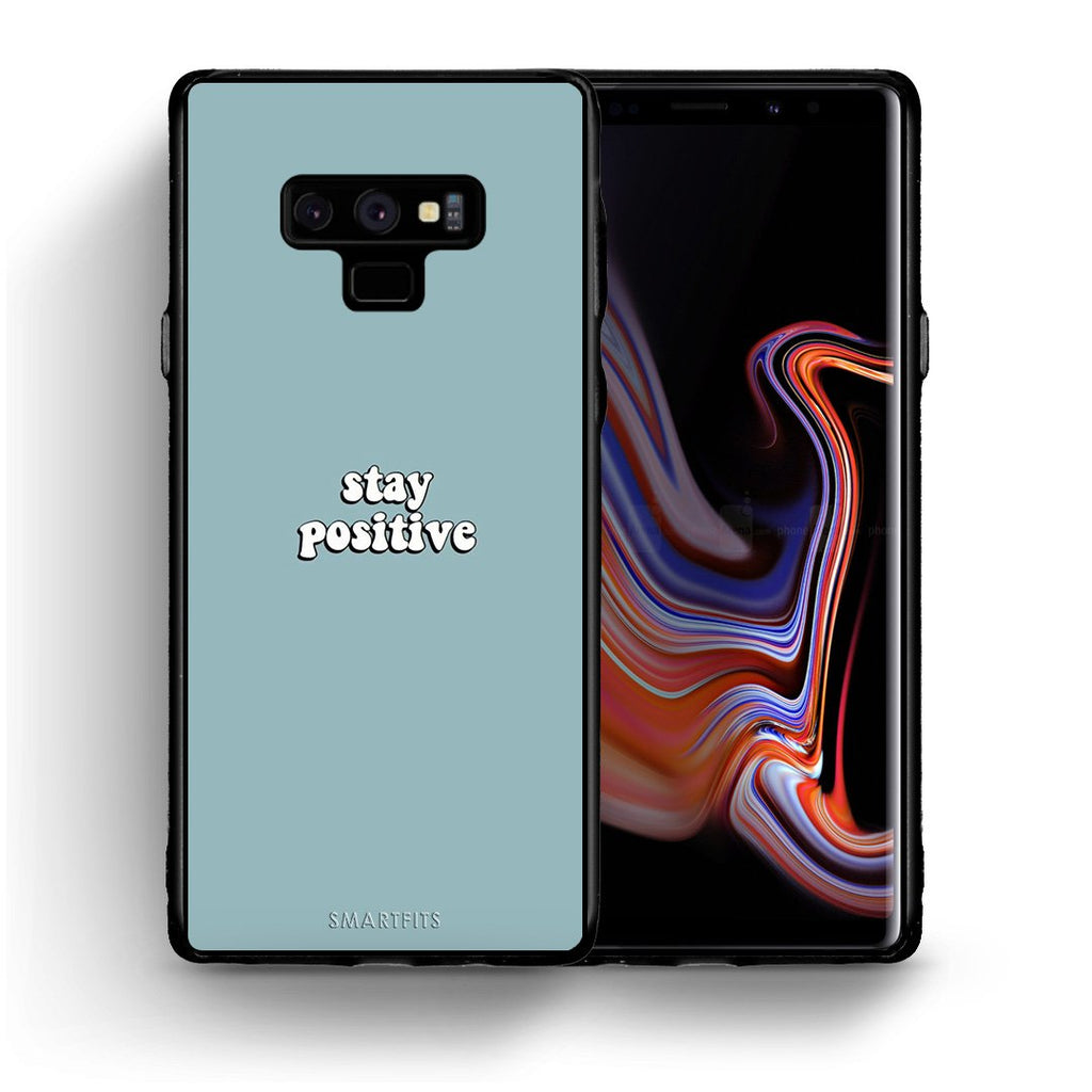 4 - samsung note 9 Positive Text case, cover, bumper