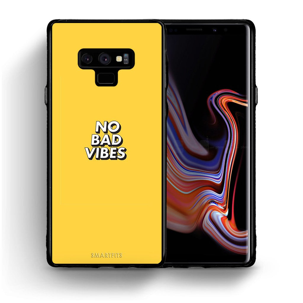 4 - samsung note 9 Vibes Text case, cover, bumper