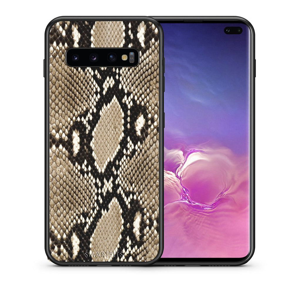 23 - samsung galaxy s10 plus Fashion Snake Animal case, cover, bumper