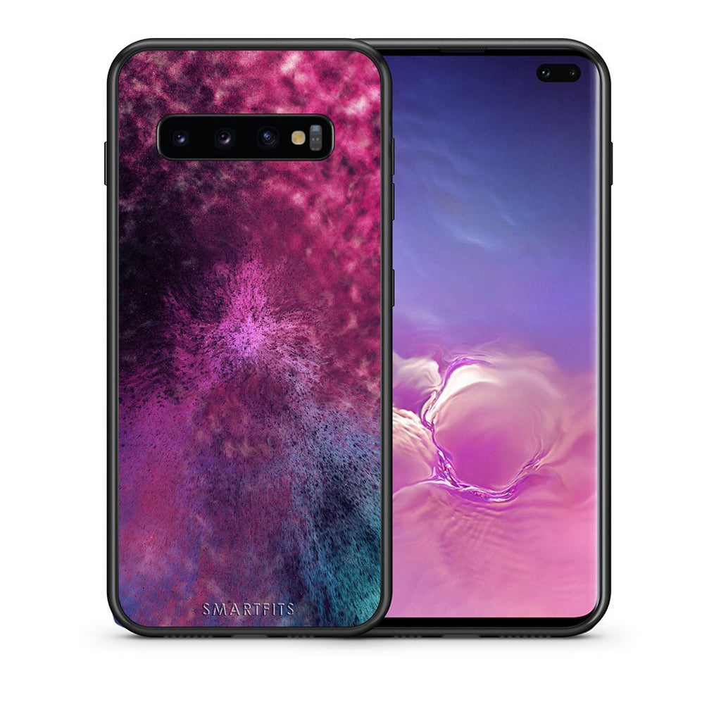 52 - samsung galaxy s10 plus Aurora Galaxy case, cover, bumper