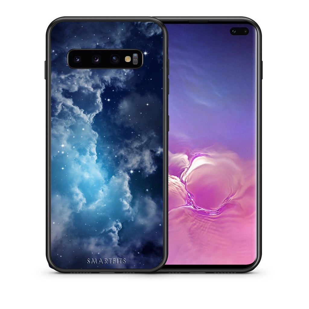 104 - samsung galaxy s10 plus Blue Sky Galaxy case, cover, bumper