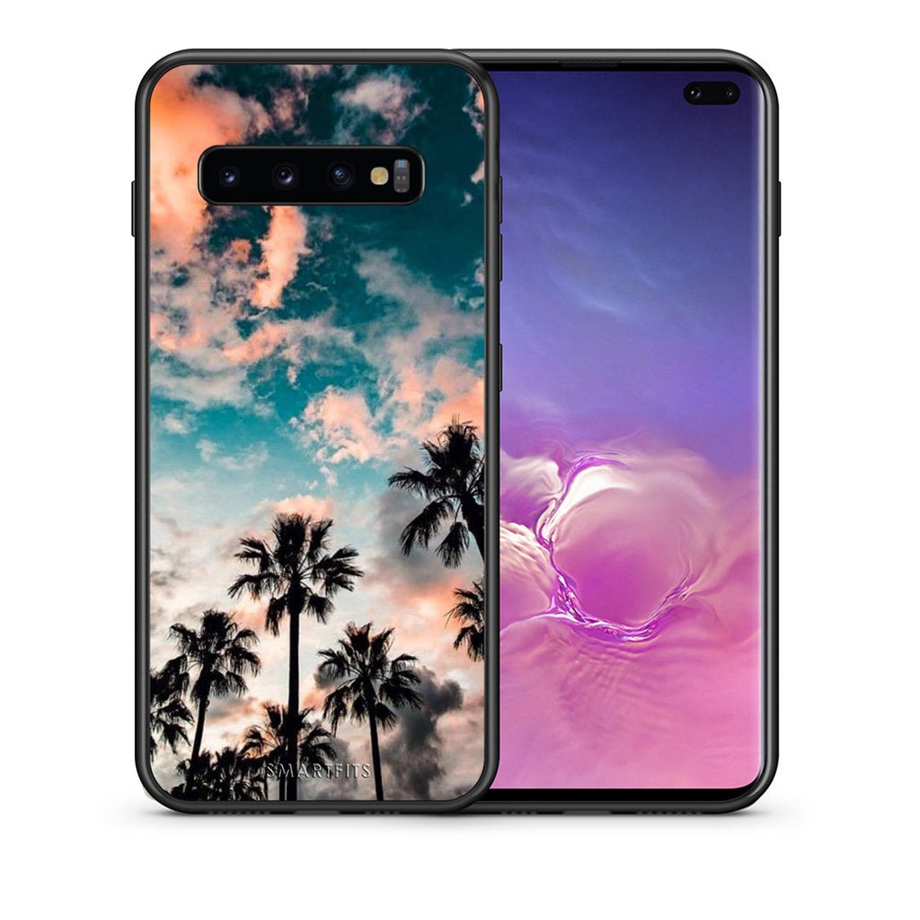 99 - samsung galaxy s10 plus Summer Sky case, cover, bumper