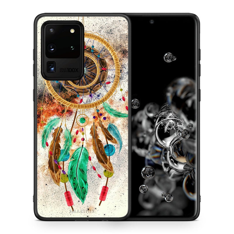 4 - Samsung S20 Ultra DreamCatcher Boho case, cover, bumper
