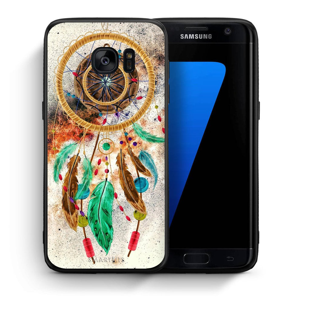 4 - samsung s7 edge DreamCatcher Boho case, cover, bumper