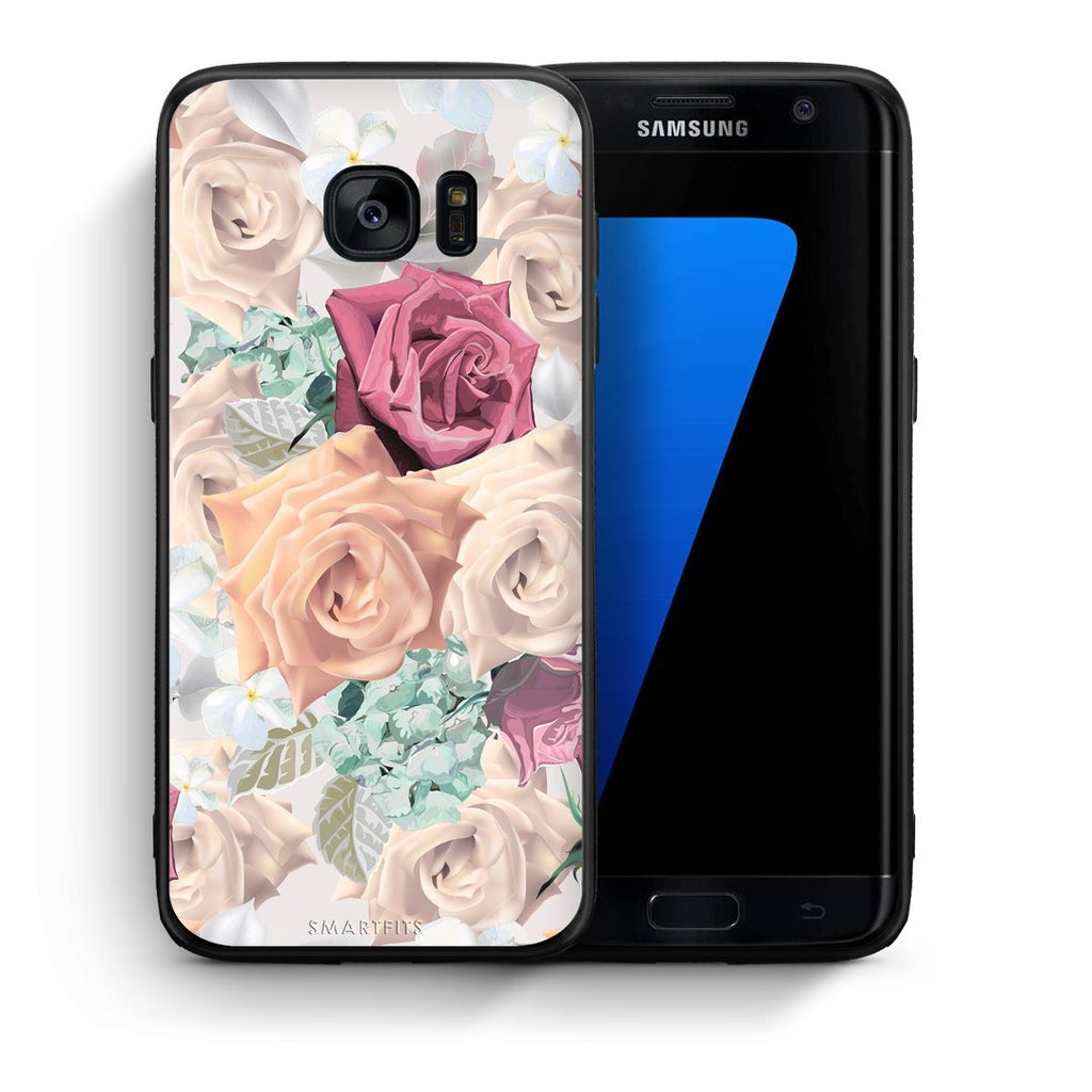 99 - samsung galaxy s7 edge Bouquet Floral case, cover, bumper