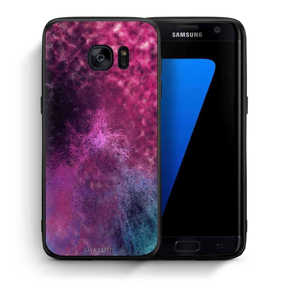 52 - samsung galaxy s7 edge Aurora Galaxy case, cover, bumper