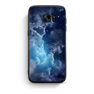 104 - samsung galaxy s7 edge Blue Sky Galaxy case, cover, bumper