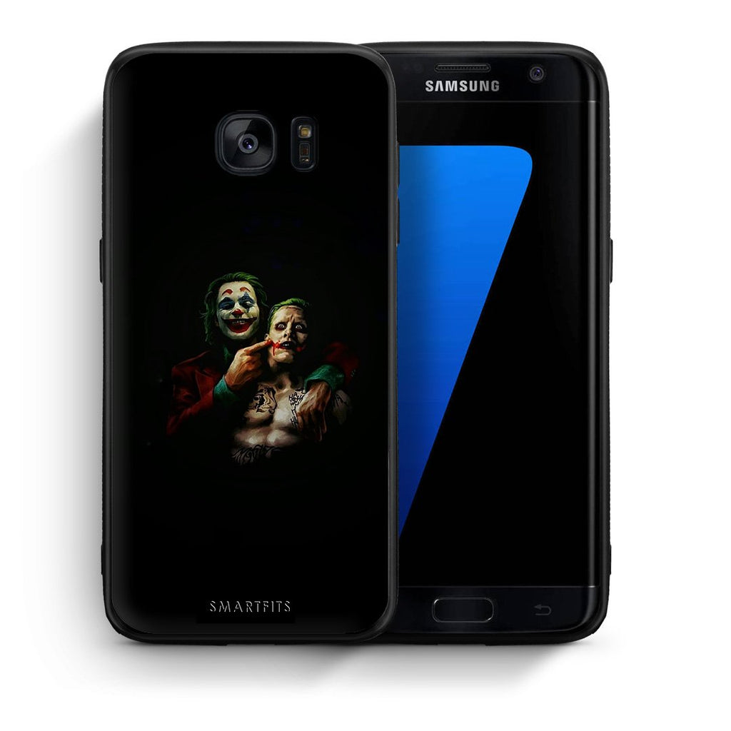 4 - samsung s7 edge Clown Hero case, cover, bumper