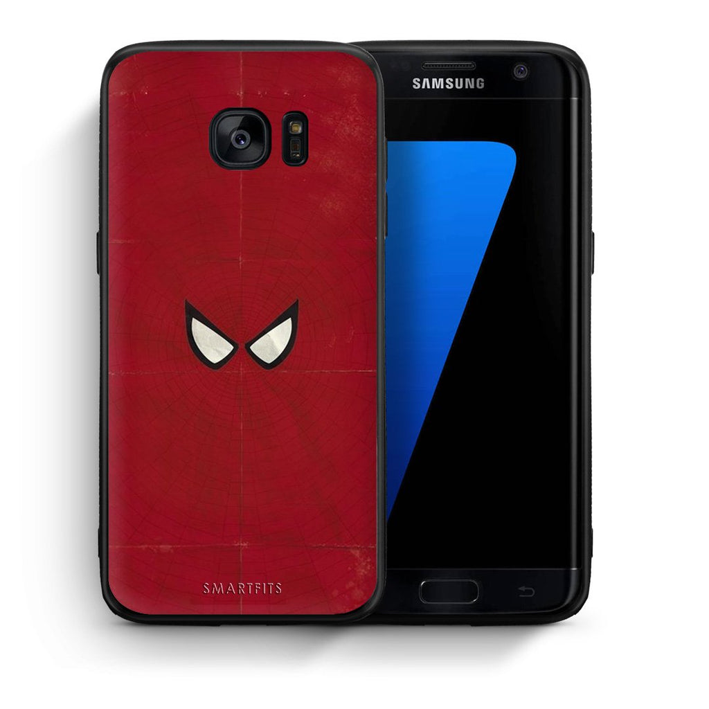 4 - samsung s7 edge Spider Eyes Hero case, cover, bumper