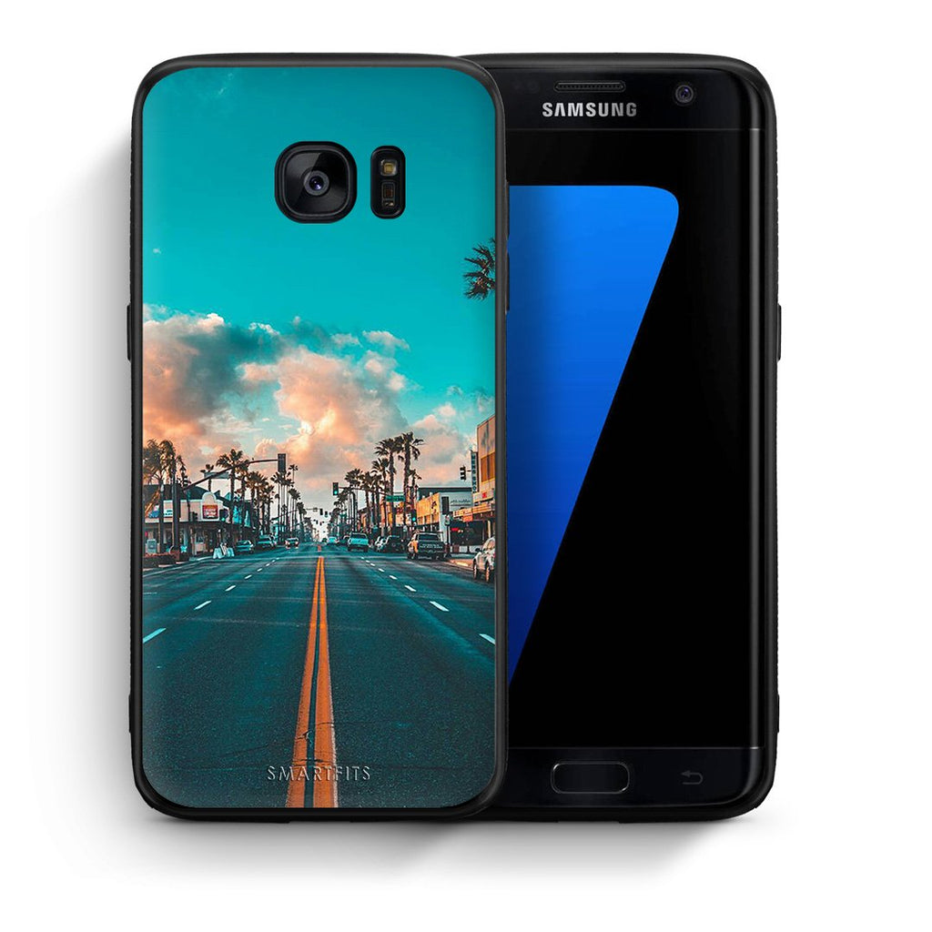 4 - samsung s7 edge City Landscape case, cover, bumper