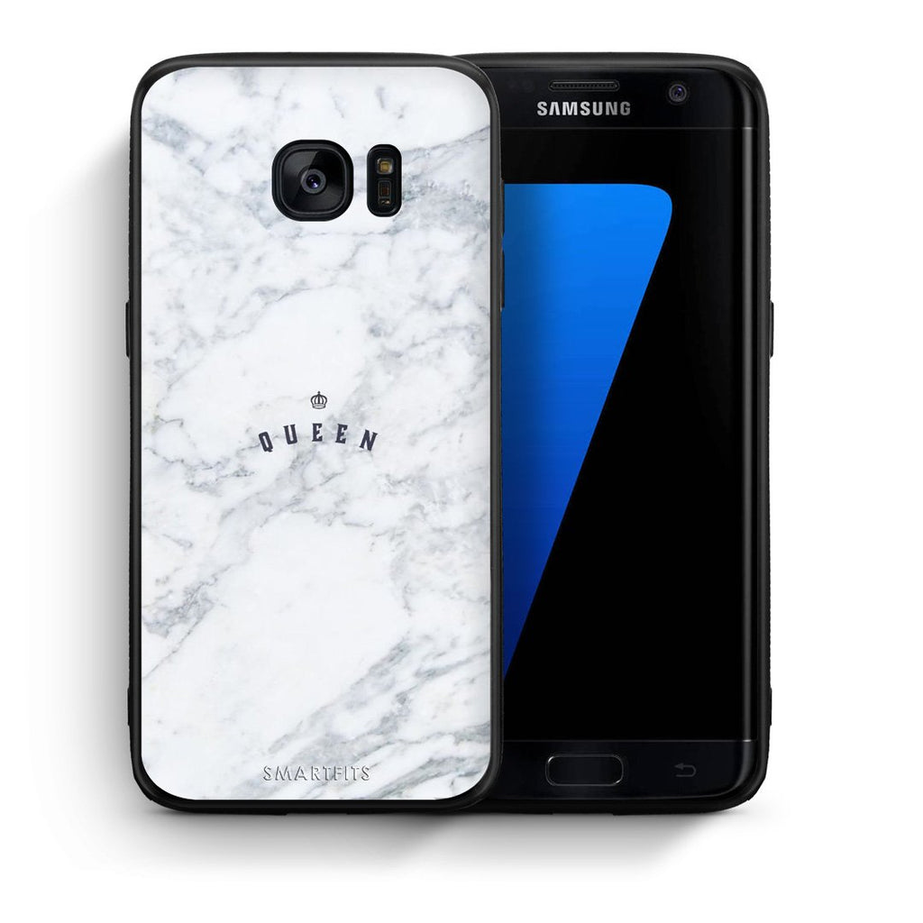 4 - samsung s7 edge Queen Marble case, cover, bumper