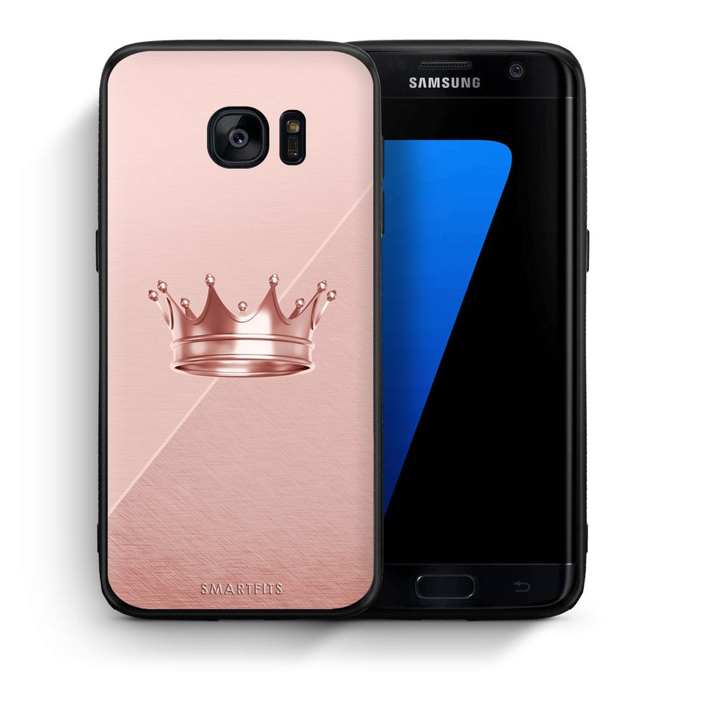 4 - samsung s7 edge Crown Minimal case, cover, bumper