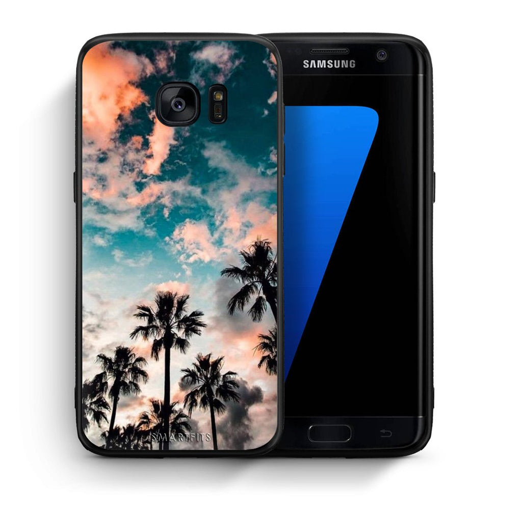 99 - samsung galaxy s7 edge Summer Sky case, cover, bumper