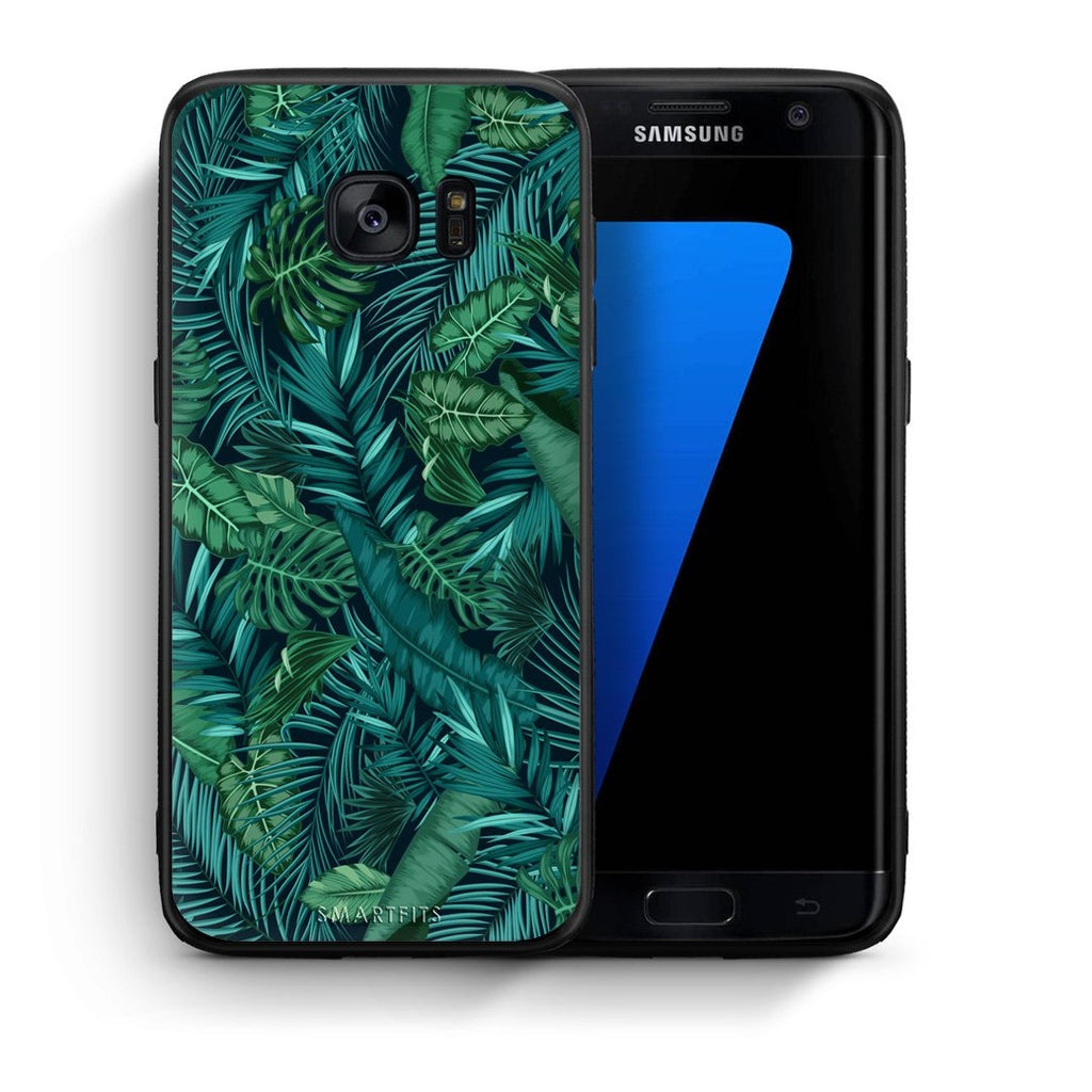 99 - samsung galaxy s7 edge Tropic Leaves case, cover, bumper