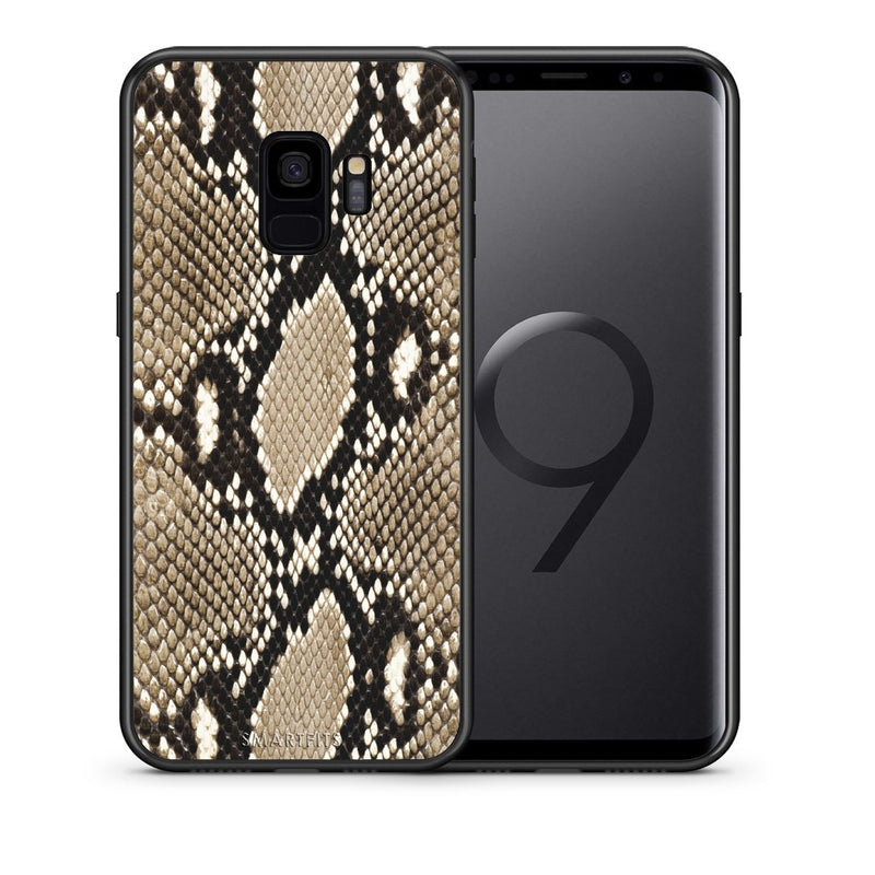 23 - samsung galaxy s9 Fashion Snake Animal case, cover, bumper