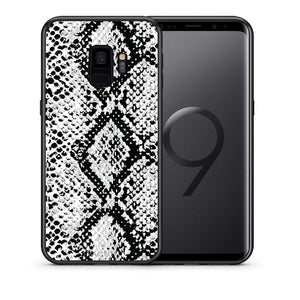 24 - samsung galaxy s9 White Snake Animal case, cover, bumper