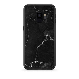 1 - samsung galaxy s9 black marble case, cover, bumper