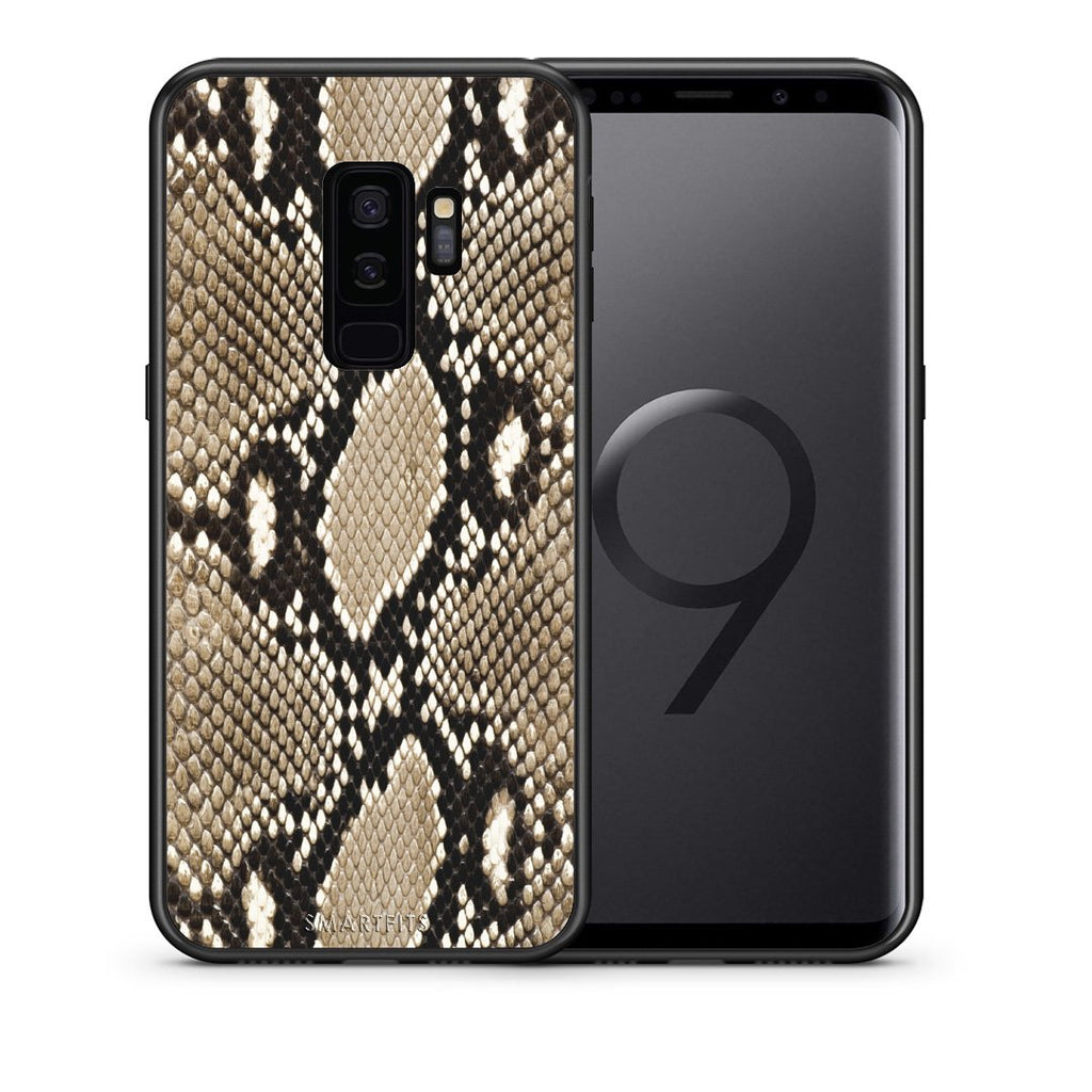 23 - samsung galaxy s9 plus Fashion Snake Animal case, cover, bumper