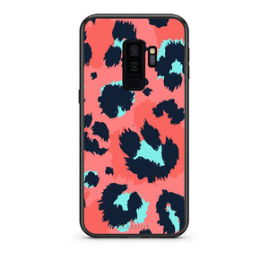 22 - samsung galaxy s9 plus Pink Leopard Animal case, cover, bumper