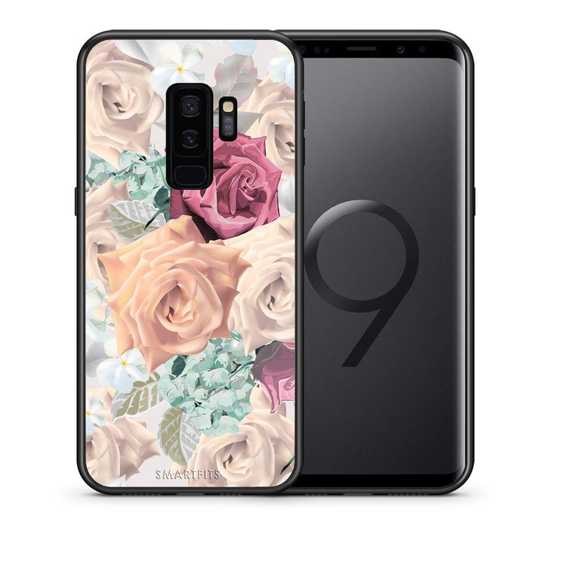 Θήκη Samsung S9 Plus Bouquet Floral από τη Smartfits με σχέδιο στο πίσω μέρος και μαύρο περίβλημα | Samsung S9 Plus Bouquet Floral case with colorful back and black bezels