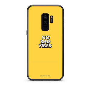 4 - samsung s9 plus Vibes Text case, cover, bumper